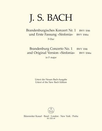 BRANDENBURG CONCERTO No.1 - Violino Piccolo