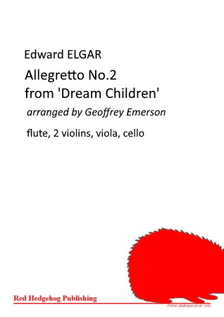 ALLEGRETTO No.2 from Dream Children (score & parts)
