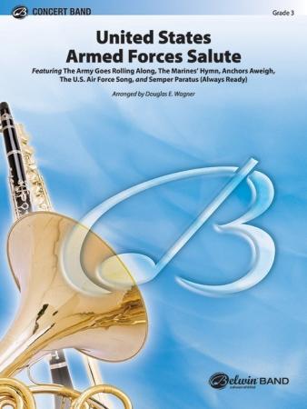 US ARMED FORCES SALUTE (score & parts)