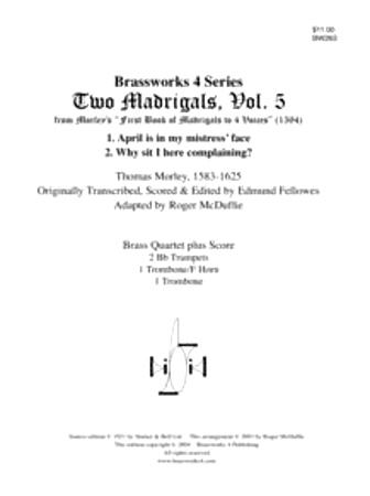 2 MADRIGALS Volume 5