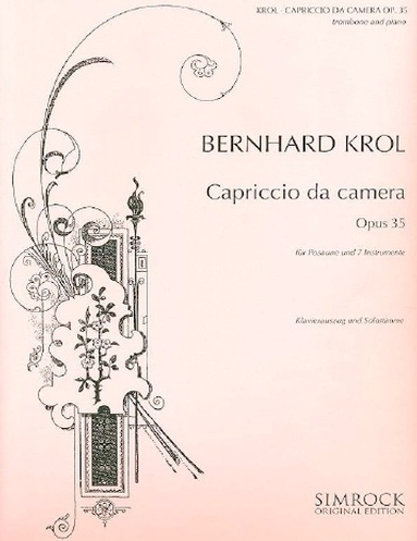 CAPRICCIO DA CAMERA Op.35