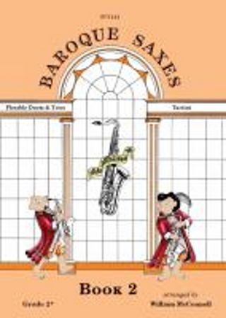 BAROQUE SAXES Book 2: Tartini (score & parts)