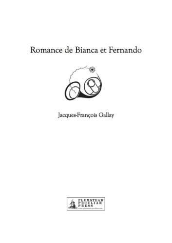 ROMANCE DE BIANCA ET FERNANDO
