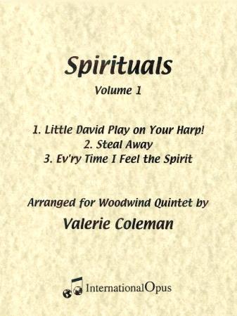 SPIRITUALS Volume 1 (score & parts)