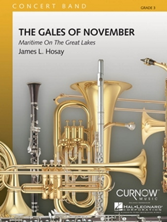 THE GALES OF NOVEMBER (score)