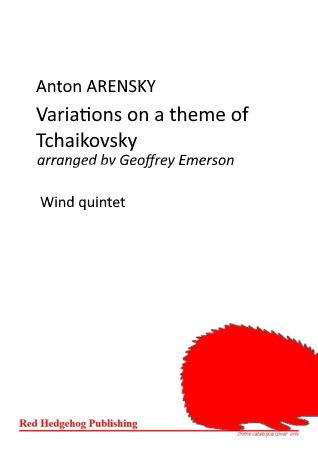 VARIATIONS ON A THEME OF TCHAIKOVSKY (score & parts)