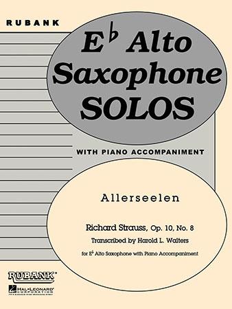 ALLERSEELEN Op.10 No.8 (All Souls)