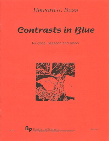 CONTRASTS IN BLUE score & parts