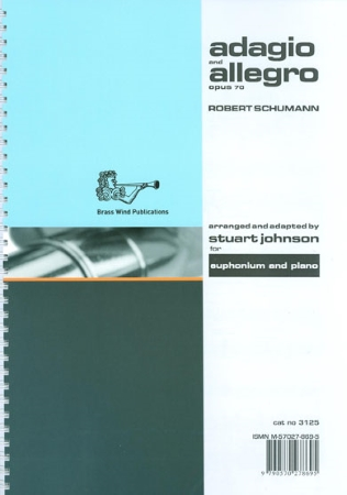 ADAGIO & ALLEGRO Op.70 (treble/bass clef)