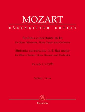 SINFONIA CONCERTANTE K297b (full score)