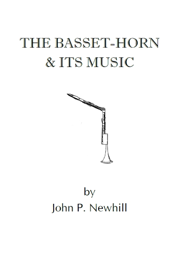 THE BASSET HORN AND ITS MUSIC - Digital Edition