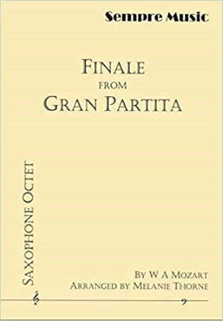 FINALE FROM GRAN PARTITA  score & parts