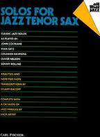 SOLOS FOR JAZZ TENOR SAX with chord symbols