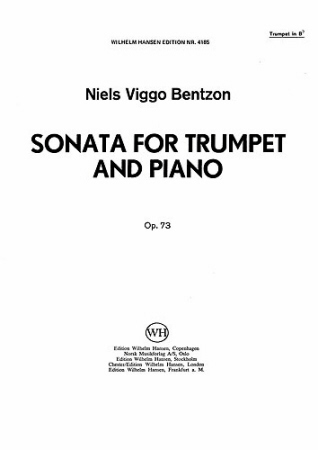 SONATA FOR TRUMPET Op.73
