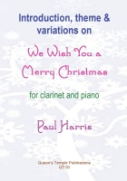 INTRODUCTION, THEME & VARIATIONS on We Wish You A Merry Christmas
