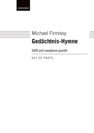 GEDACHTNIS-HYMNE Saxophone Parts