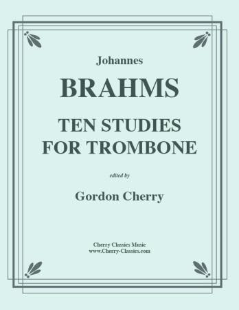 TEN STUDIES for Trombone