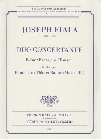DUO CONCERTANTE No.1 in F major
