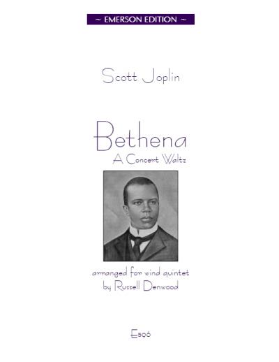 BETHENA A Concert Waltz (score & parts)