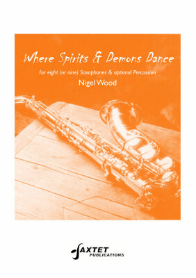 WHERE SPIRITS AND DEMONS DANCE score & parts