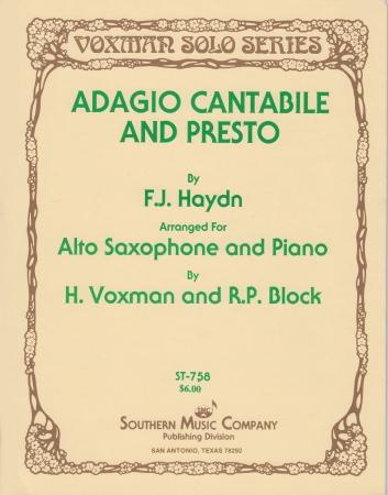 ADAGIO CANTABILE & PRESTO