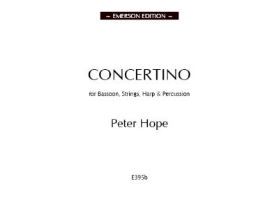 CONCERTINO Full Score