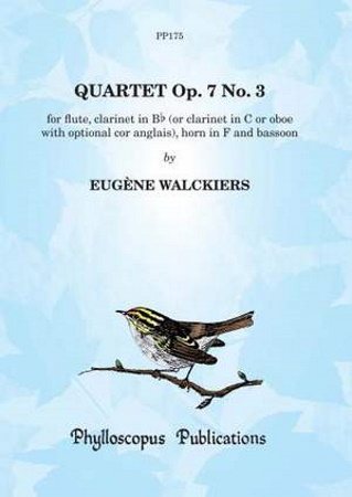 QUARTET Op.7 No.3 (score & parts)