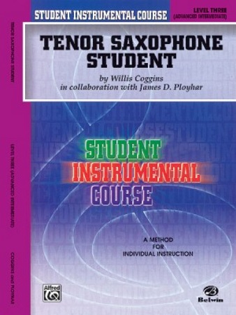 TENOR SAXOPHONE STUDENT Level 3