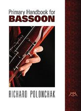 PRIMARY HANDBOOK FOR BASSOON