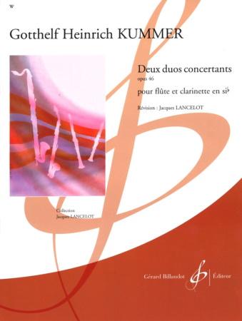 DEUX DUOS CONCERTANTS Op.46