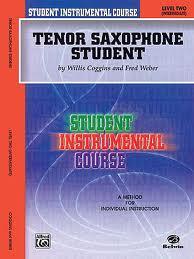 TENOR SAXOPHONE STUDENT Level 2