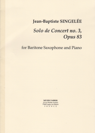 SOLO DE CONCERT No.3 Op.83