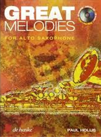 GREAT MELODIES FOR ALTO SAXOPHONE + CD