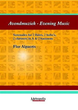 AVONDMUZIEK - MUSIQUE DU SOIR (score & parts)
