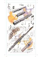 POCKET NOTEPAD Flute