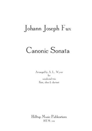 CANONIC SONATA (score & parts)