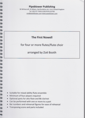 THE FIRST NOWELL score & parts