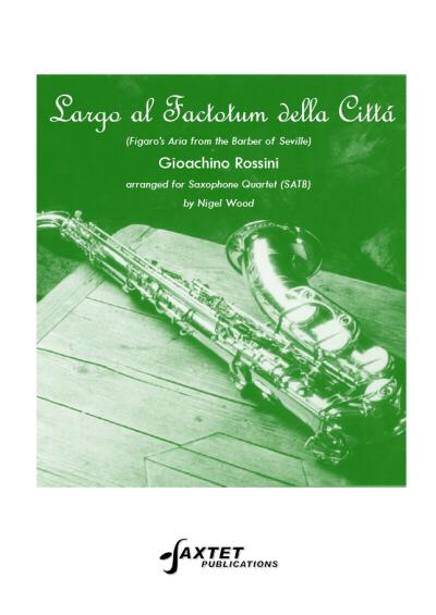 LARGO AL FACTOTUM DELLA CITTA (score & parts)