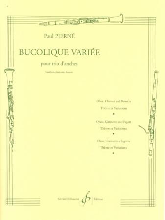 BUCOLIQUE VARIEE (score & parts)