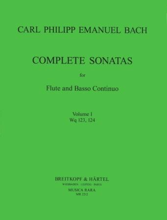 COMPLETE SONATAS Volume 1 Wq.123/124
