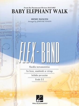 BABY ELEPHANT WALK (FLEX-BAND) (score & parts)
