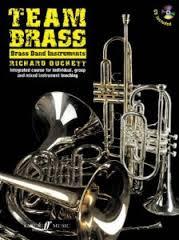 TEAM BRASS Brass Band Instruments + CD