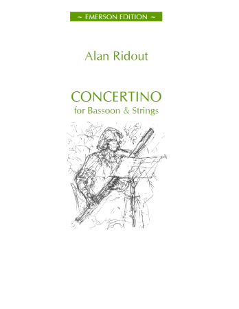 CONCERTINO FOR BASSOON (score)
