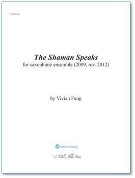 THE SHAMAN SPEAKS (score & parts)