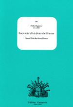 SOUVENIR D'UN JOUR DE CHASSE (score & parts)