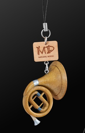 WOODEN STRAP French Horn (3D)