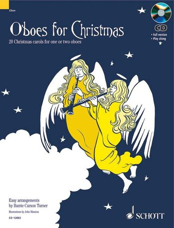 OBOES FOR CHRISTMAS + CD