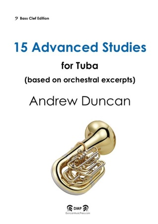 15 ADVANCED STUDIES (bass clef)