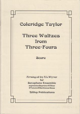 THREE WALTZES FROM THREE-FOURS