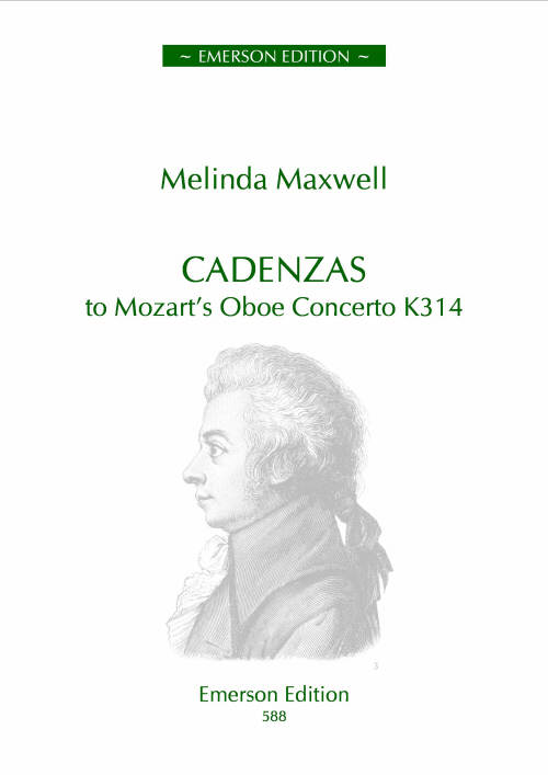 CADENZAS to Mozart's Oboe Concerto K314 - Digital Edition